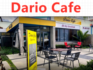Dario Cafe Address : 118 King Street North,  Hastings  Phone  : 06-211 6553